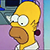 Homer Simpson - Spur of the Moment by DeverexDrawer