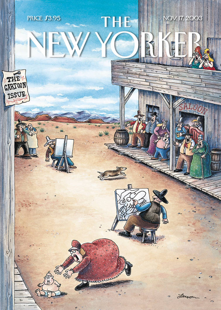 The New Yoker 2003 Featuring Gary Larson By