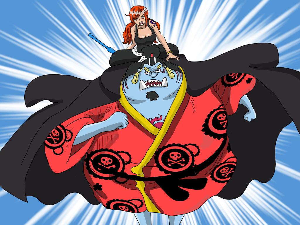 Nami Y Jinbei One Piece Ch 854 By Bryanfavr On Deviantart