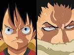 Luffy VS Katakuri (One Piece Ch. 878)