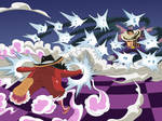 Luffy vs Katakuri (One Piece Ch. 879)