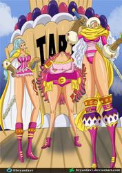 Smoothie, Citron, y Cinnamon(One Piece Ch. 892)