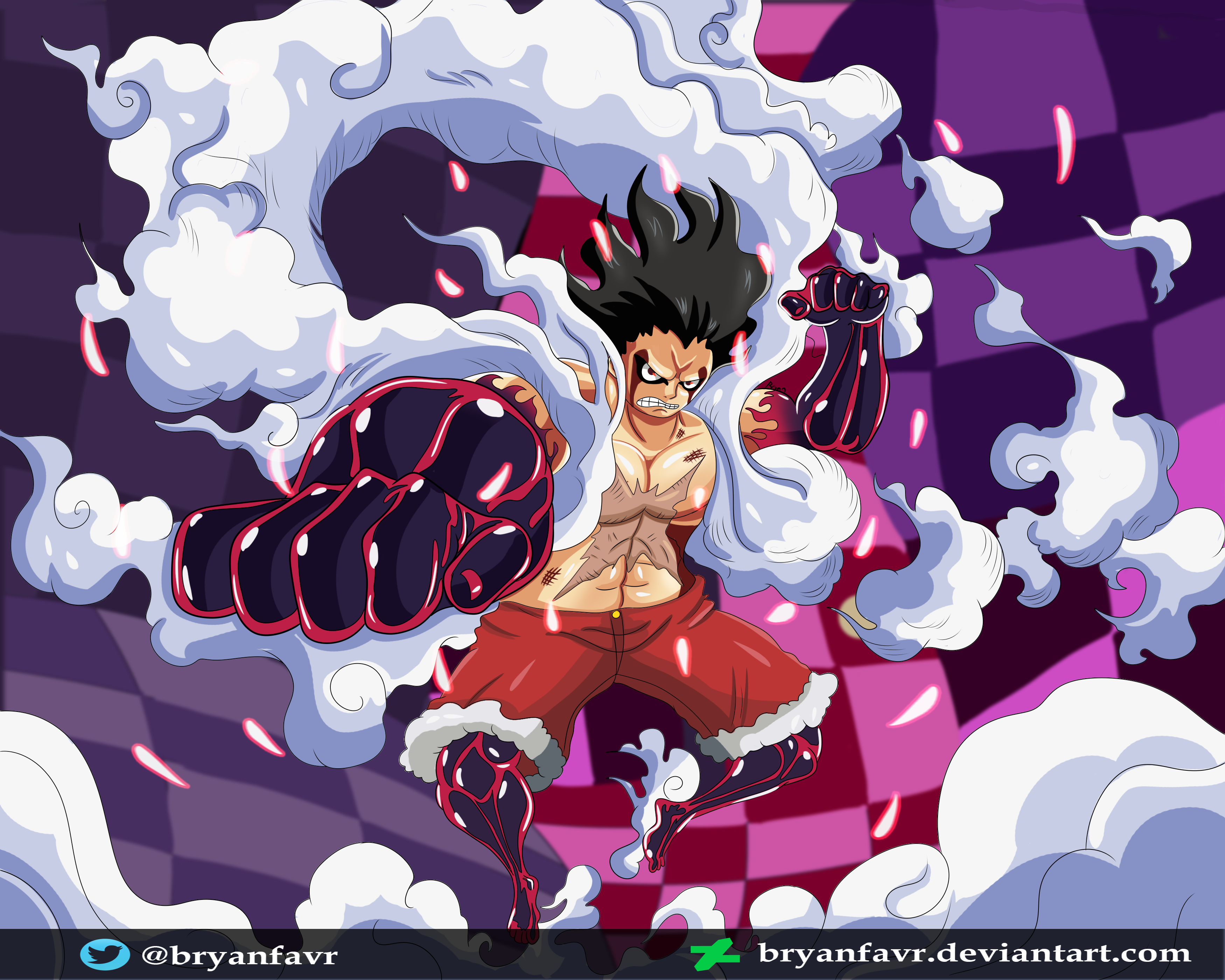 Gear 4 Snakeman One Piece Ch 895 By Bryanfavr On Deviantart