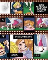 Sanji y pudding (One Piece Ch. 902) by bryanfavr