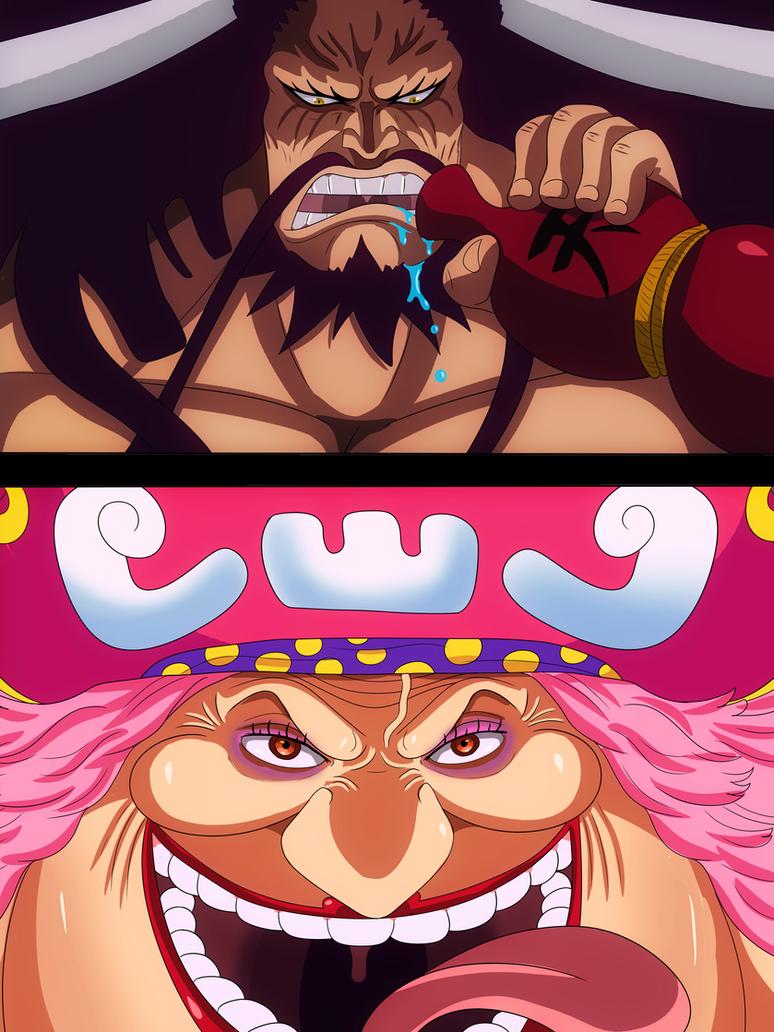Big mom and Kaido (One Piece Ch. 907) by bryanfavr