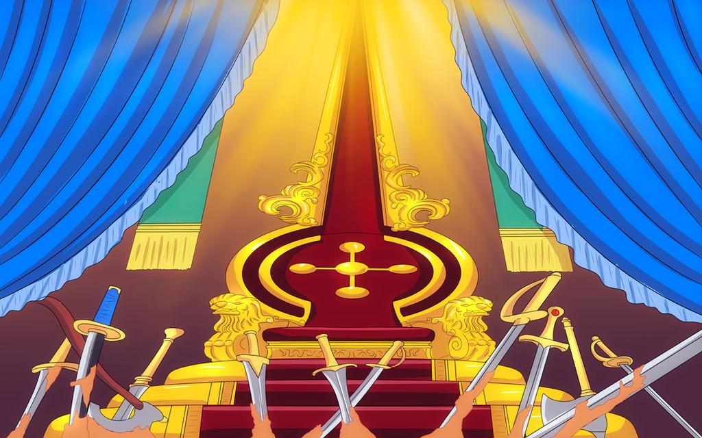 the empty throne (One Piece Ch. 907) by bryanfavr