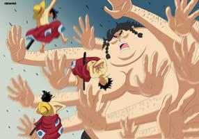 Luffy Haki (One Piece Ch. 916) by bryanfavr