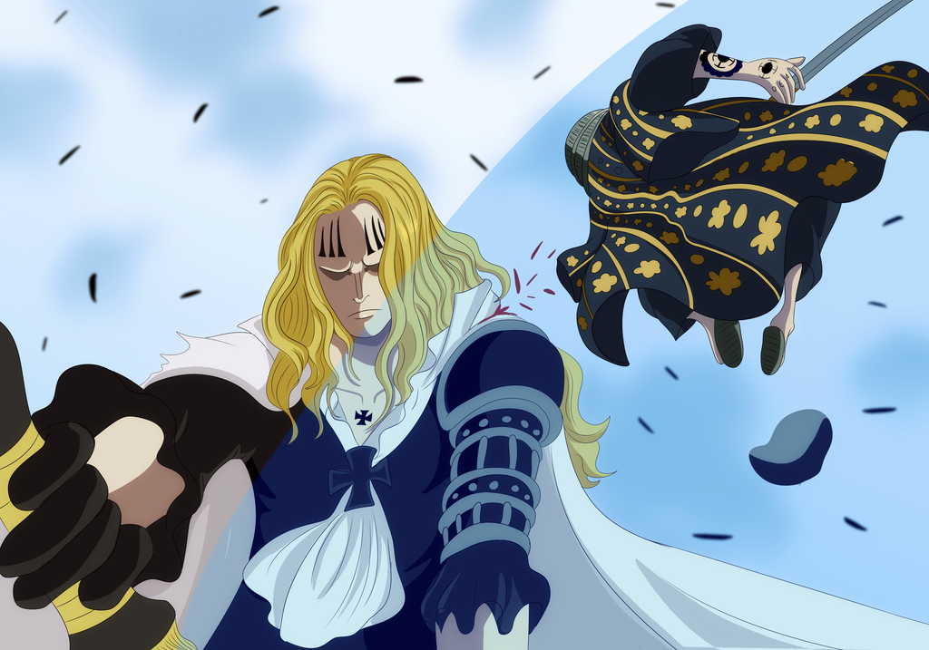 law vs hawkins (One Piece Ch. 918) by bryanfavr