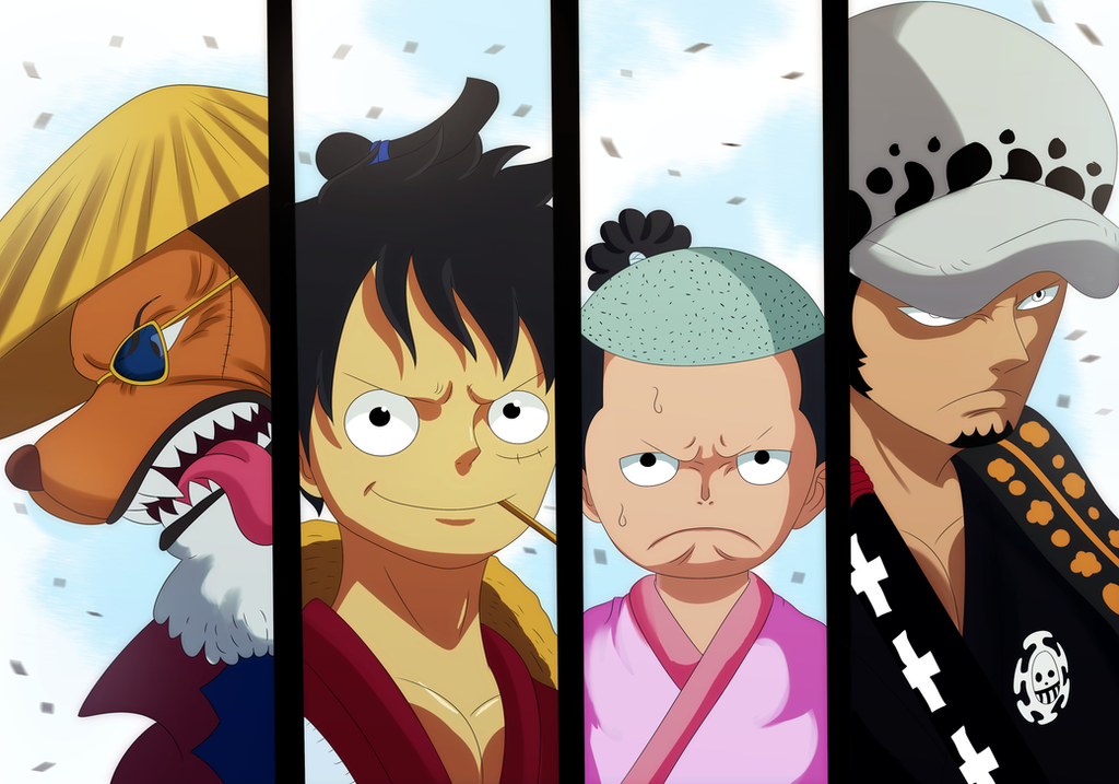 Kaido Raid (One Piece Ch. 920) by bryanfavr