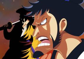 Kozuki Sukiyama (One Piece Ch. 920) by bryanfavr