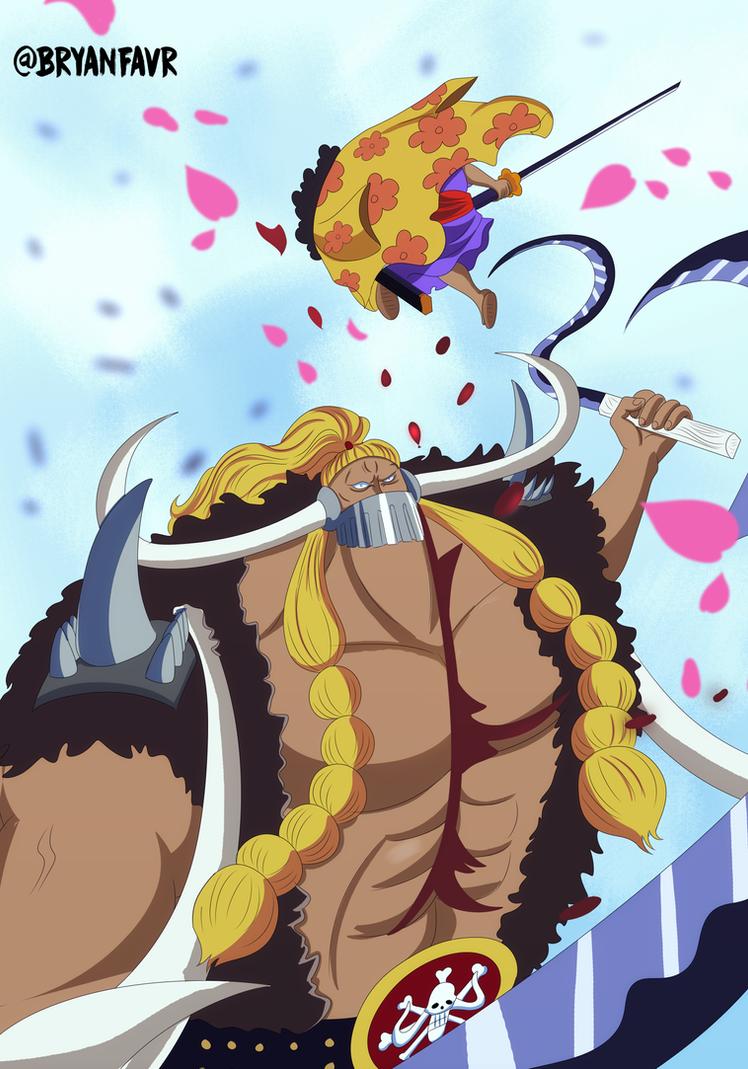 Jack vs Shutenmaru (One Piece Ch. 921) by bryanfavr