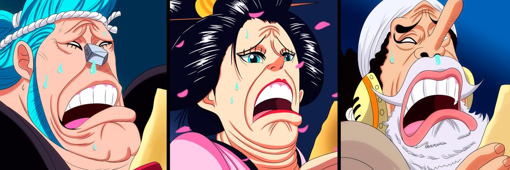 Mugiwaras (One Piece Ch. 924) by bryanfavr
