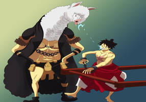 Luffy (One Piece Ch. 934) by bryanfavr