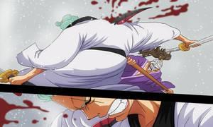 Zoro vs Kamazou (One Piece Ch. 937) by bryanfavr