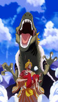Sanji vs Drake (One Piece Ch. 944)