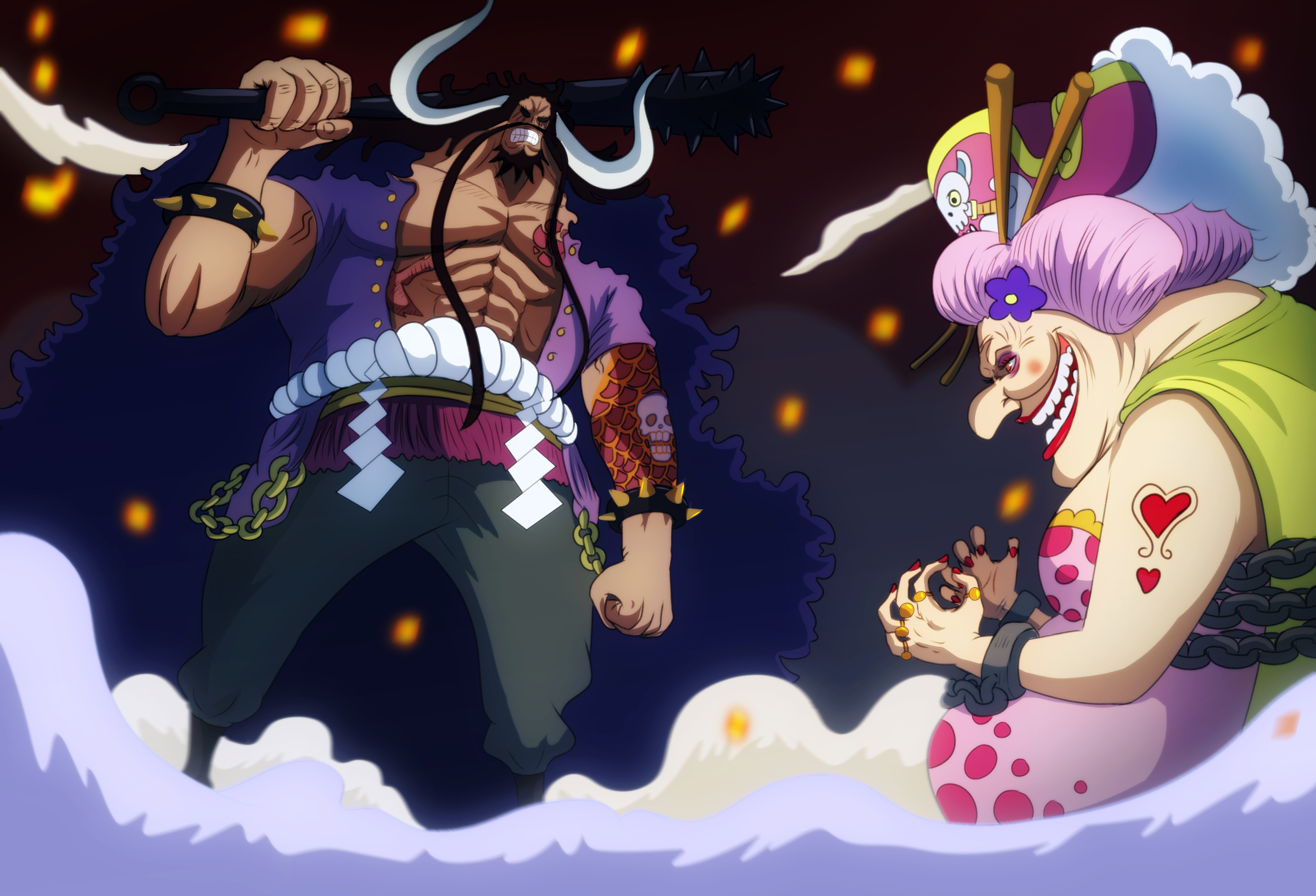 Kaido and Big Mom (One Piece Ch. 951)