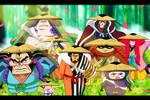 Vainas rojas (One Piece Ch. 955)