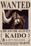 Kaido  bounty (One Piece Ch. 957)