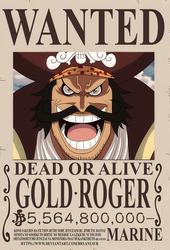 Gol D. Roger bounty (One Piece Ch. 957)
