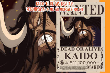 Kaido Wanted (One Piece Ch. 957)