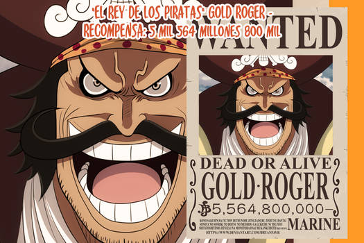 Gol D. Roger Wanted (One Piece Ch. 957)