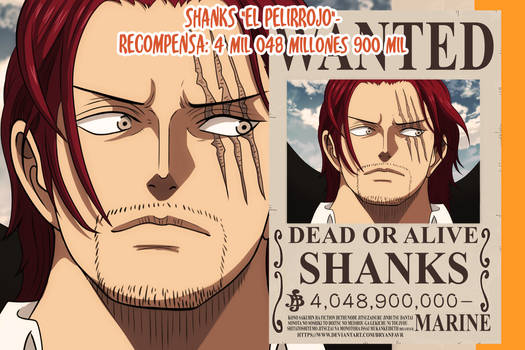 Shanks Wanted (One Piece Ch. 957)