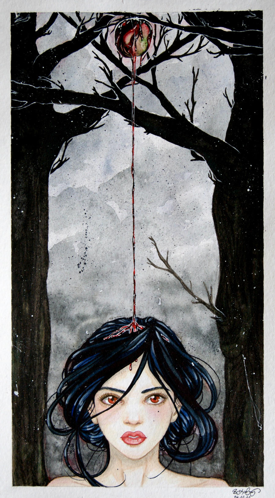 Snow White by bomgirl