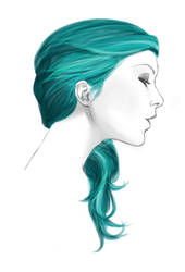 Blue Hair by The-Lovely-Insanity