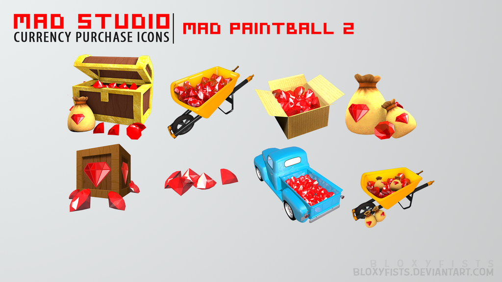 Mad Studio | Mad Paintball 2 | Currency Icons by BloxyFists