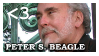 Stamp: Peter S. Beagle by elfgrove
