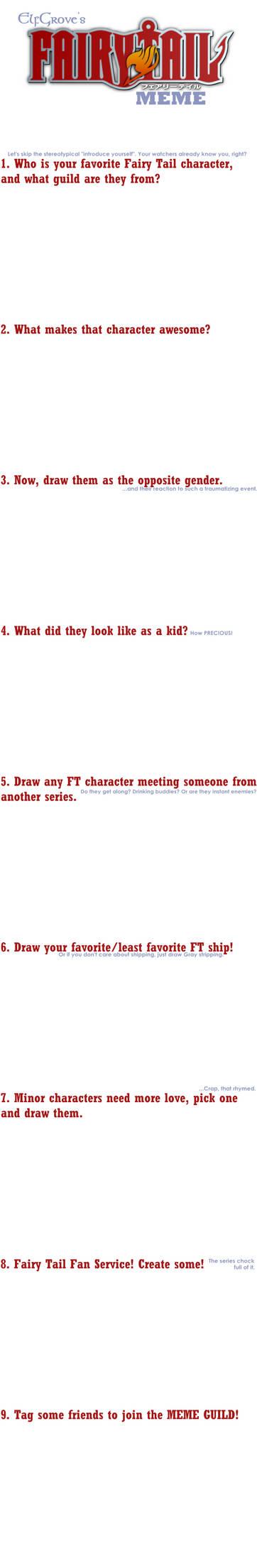 Fairy Tail Meme Blank