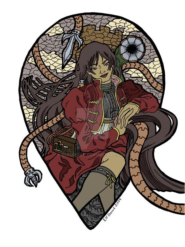 SteamPunk Fairy Tales Rapunzel