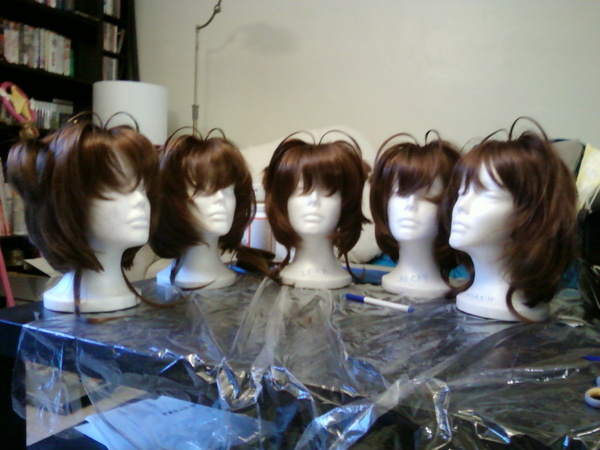 CCS Sakura Wigs by elfgrove