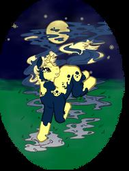 MLP Halloween - MoonSpots by elfgrove