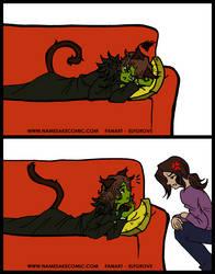 Kitty Warrick by elfgrove