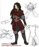 ATLA - OC: Karu in Armor