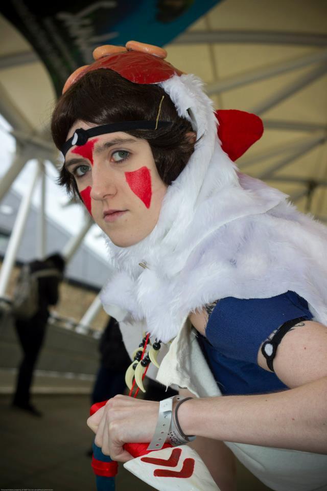 Princess Mononoke San Cosplay By Darkwolfchan On Deviantart