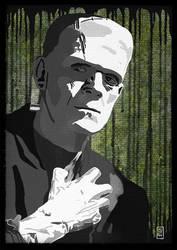 Frankenstein's monster by DocSW