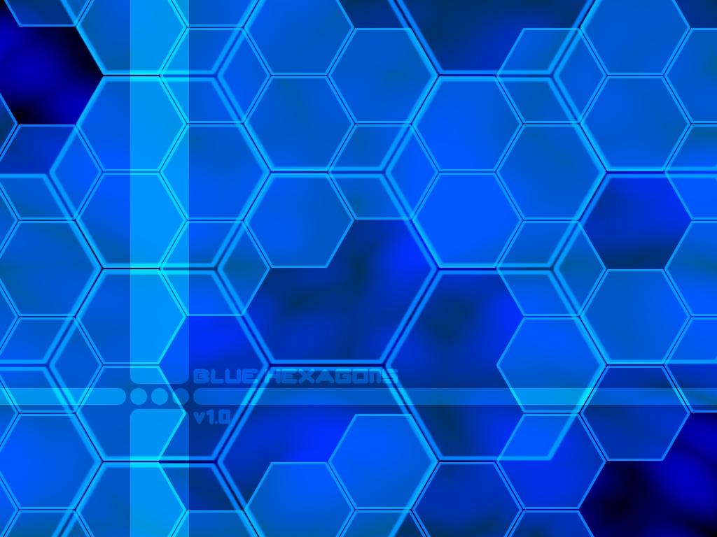 wallpaper blue hexagon white - photo #18