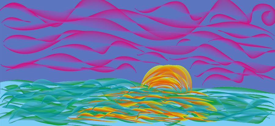 trippy sunset???...... by horrorpheliac on DeviantArt