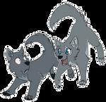 Wolf Chibi Pups