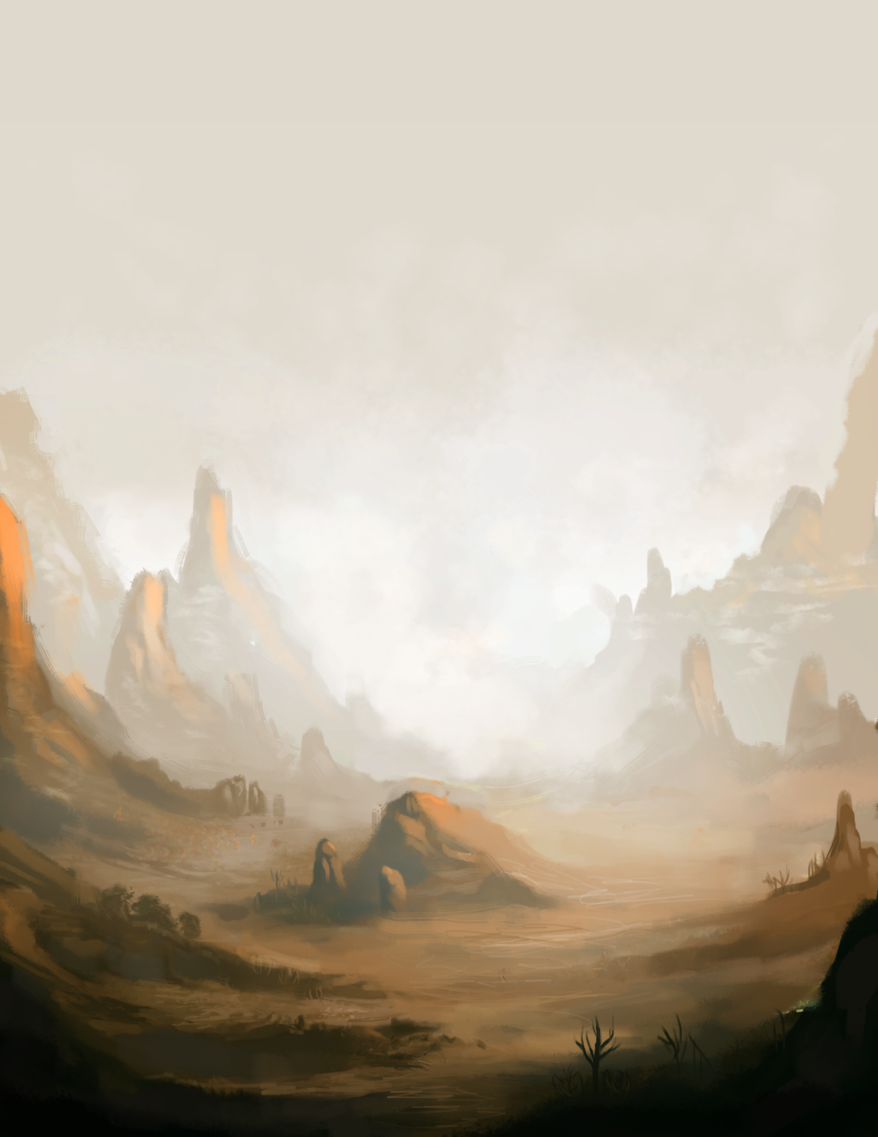 Forgotten Desert by Naviira