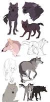 Wolf Sketchdump