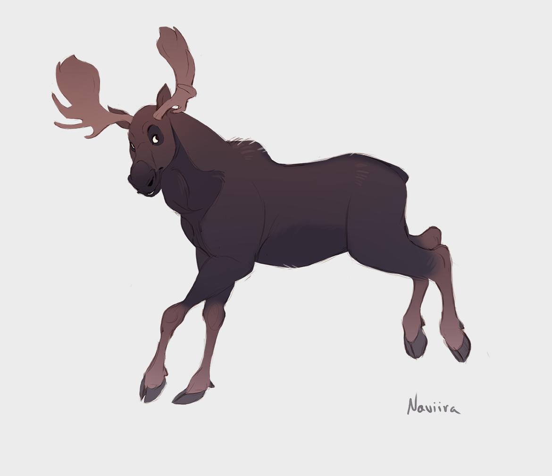 Moose Eh? by Naviira