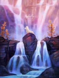Highvalley | Wolvenking's Halls by Naviira
