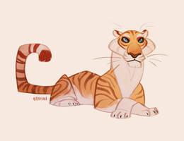 Golden Tiger by Naviira
