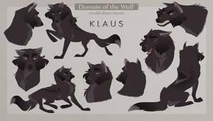 Klaus Model Sheet by Naviira