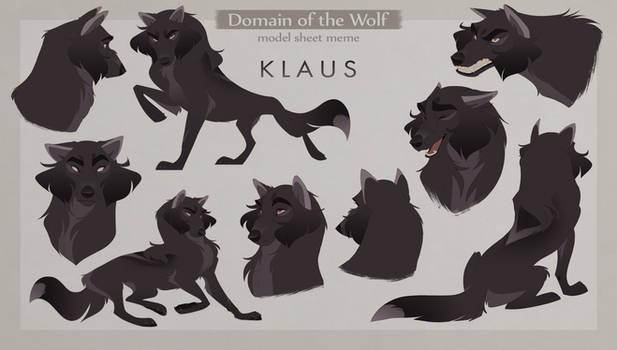Klaus Model Sheet
