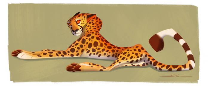 Cheetah Character Design
