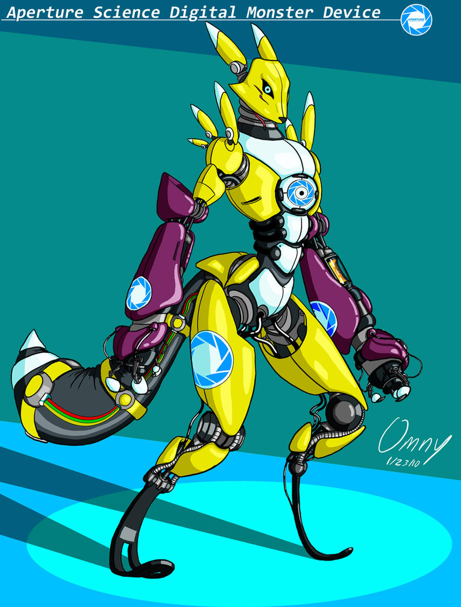 Robo Renamon by Omny87